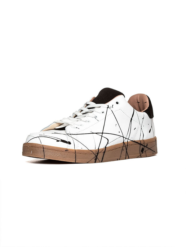 SPLASH SNEAKERS IN WHITE AND BEIGE GUM 9480530e1