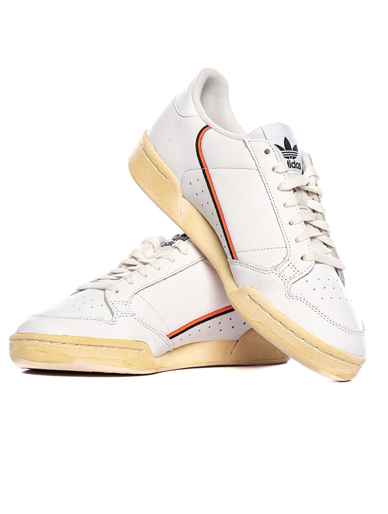 CONTINENTAL 80 SNEAKERS IN BLACK AND ORANGE