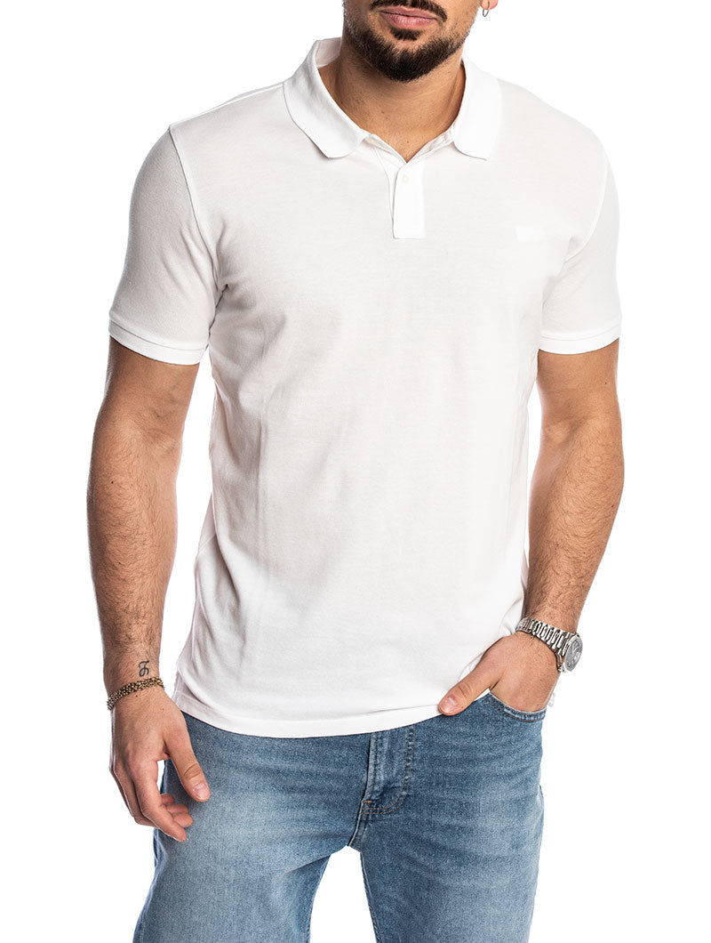 VINTAGE MACKINACK POLO IN BRIGHT WHITE