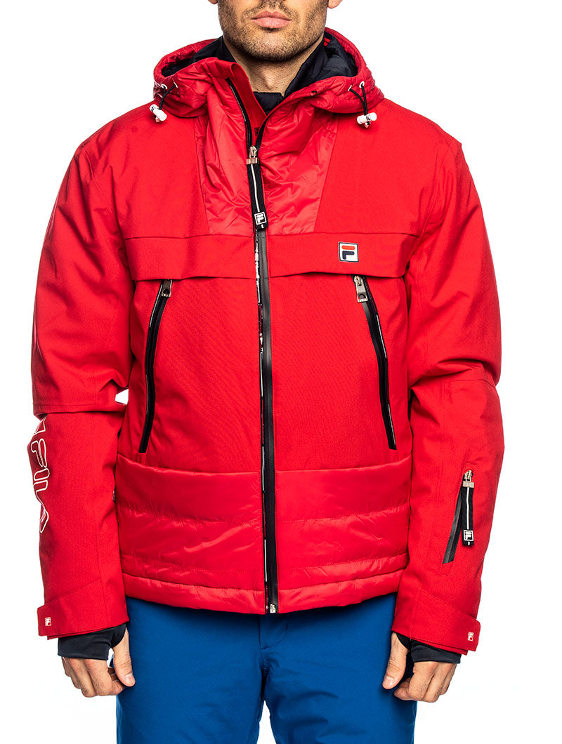 MEN SEIKO JACKET IN RED