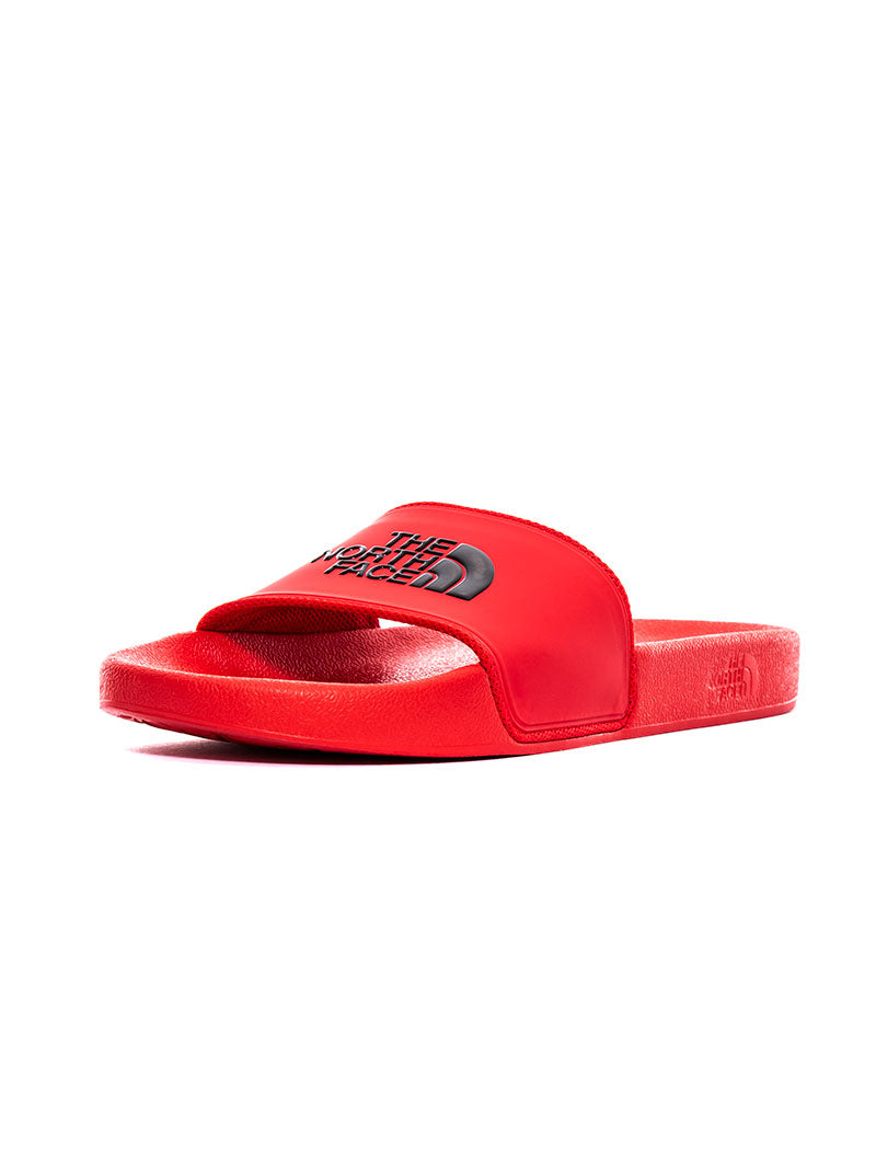BASE CAMP SLIDE II IN RED AND BLACK