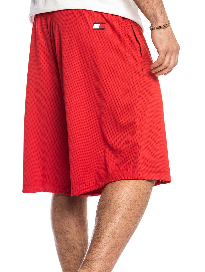 TOMMY SPORT SHORTS 237 IN TRUE RED