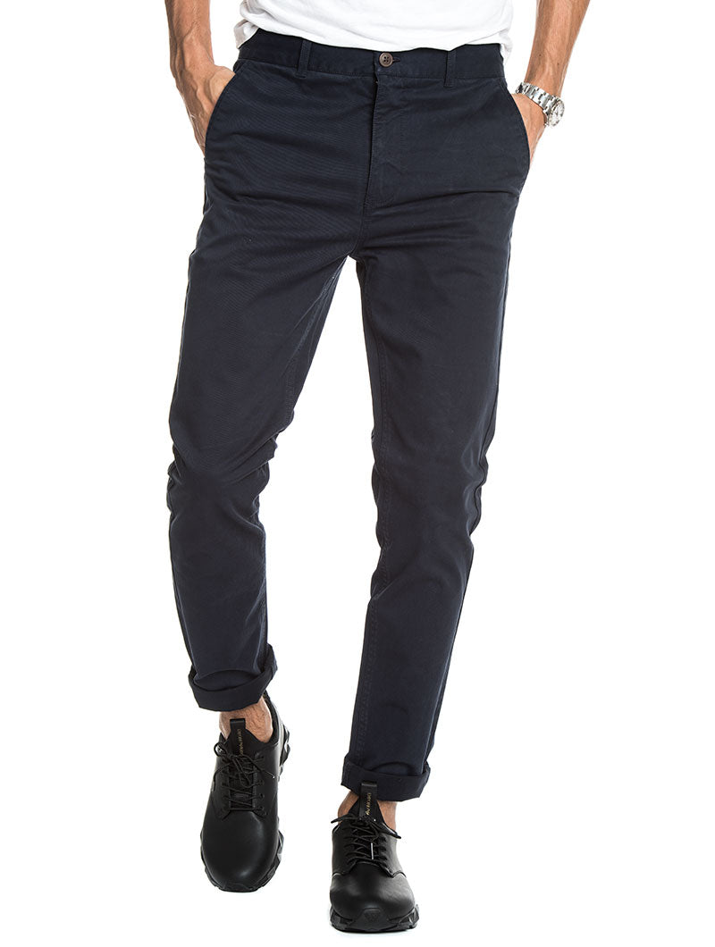 FRANK NAVY BLUE PANTS