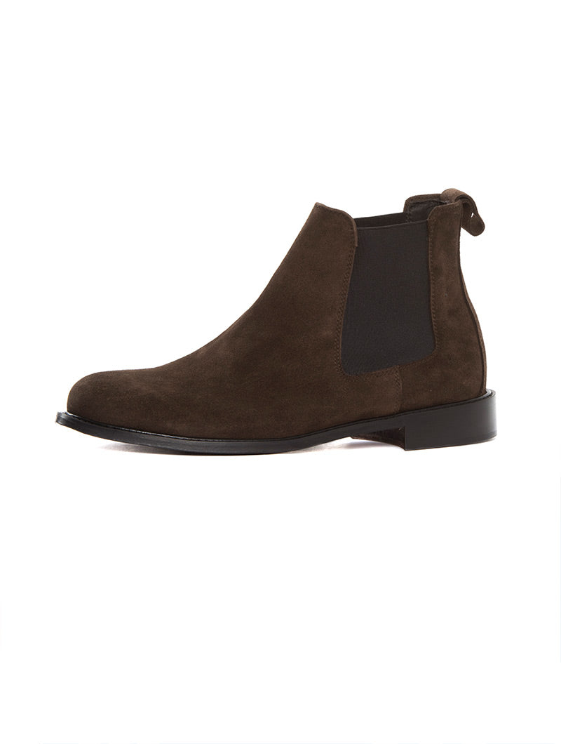 ITALY CHELSEA BOOTS IN BROWN