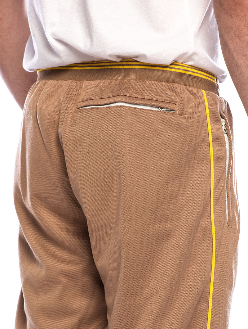 TRACK PANT IN BEIGE