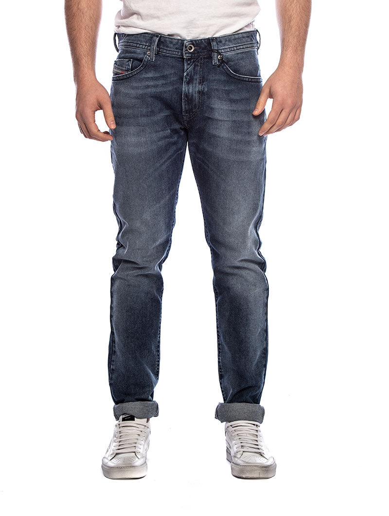 THOMMER L.32 STRAIGHT JEANS IN BLUE