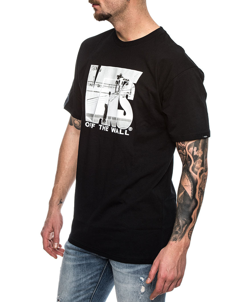 MN SECURITY T-SHIRT IN BLACK