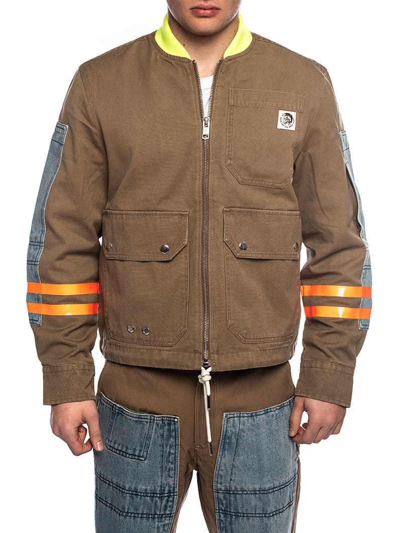 STORCH JACKET IN BROWN