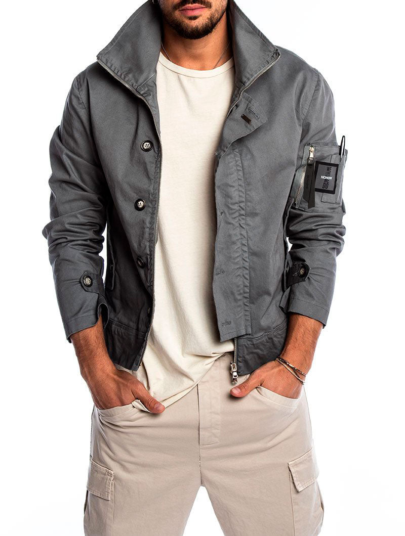 CADMAN JACKET IN GREY