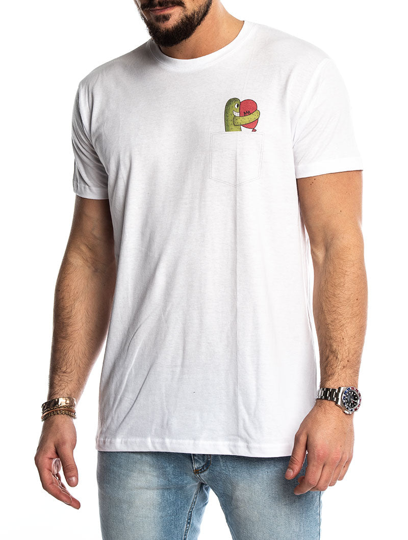 CACTUS T-SHIRT IN WHITE
