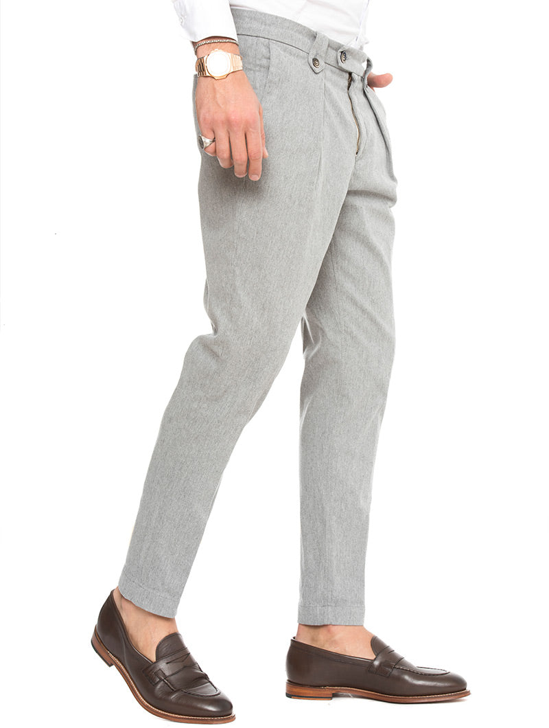 ALONDRA TROUSERS IN GREY