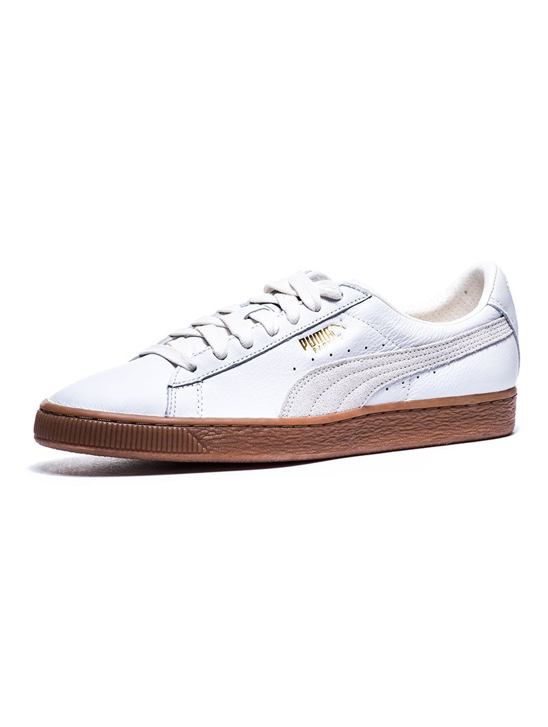 Deluxe White Men's Gum Basket Puma In Classic Shoes aAwxZqUwp