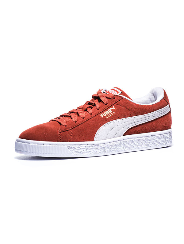 SUEDE CLASSIC SHOES IN BURNT RED · Puma 1d943133b