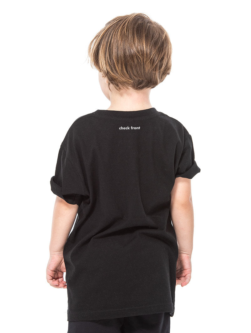 KID'S HEARTLESS T-SHIRT IN BLACK