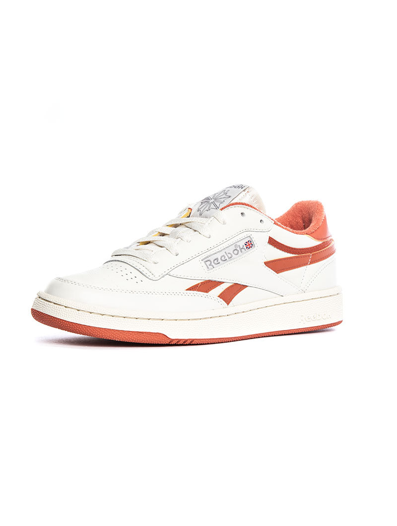 CLUB C REVENGE SNEAKERS IN ORANGE