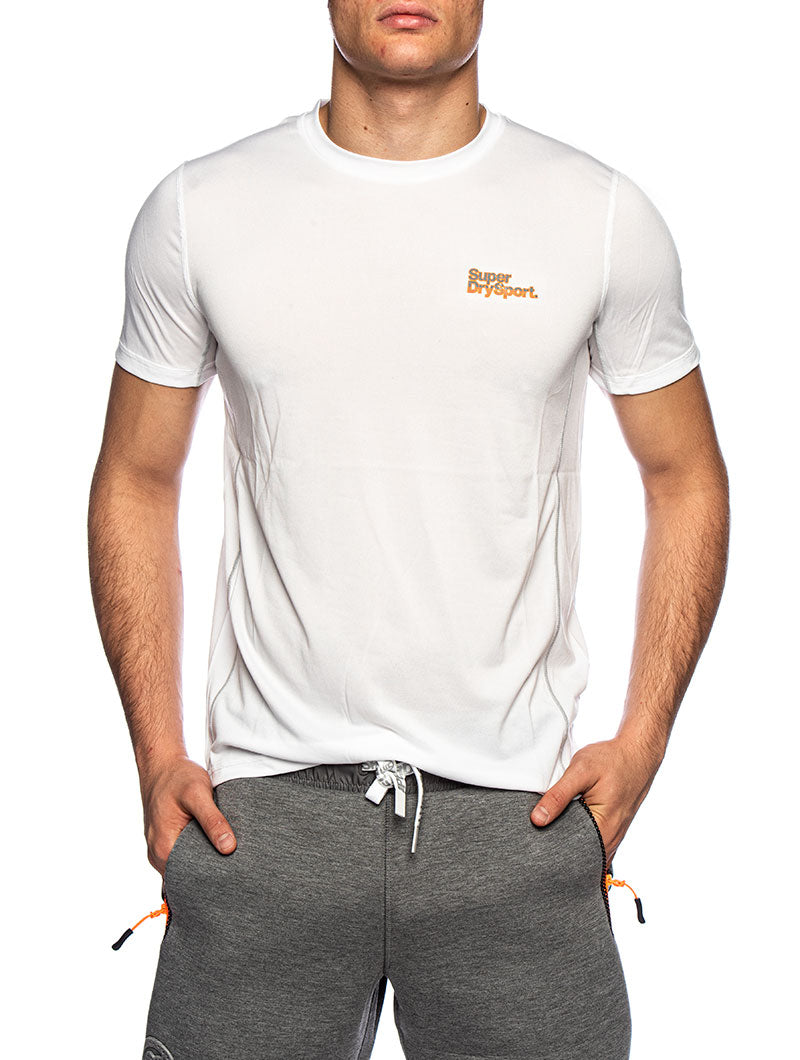 ACTIVE TRAINING S/S T-SHIRT IN WHITE