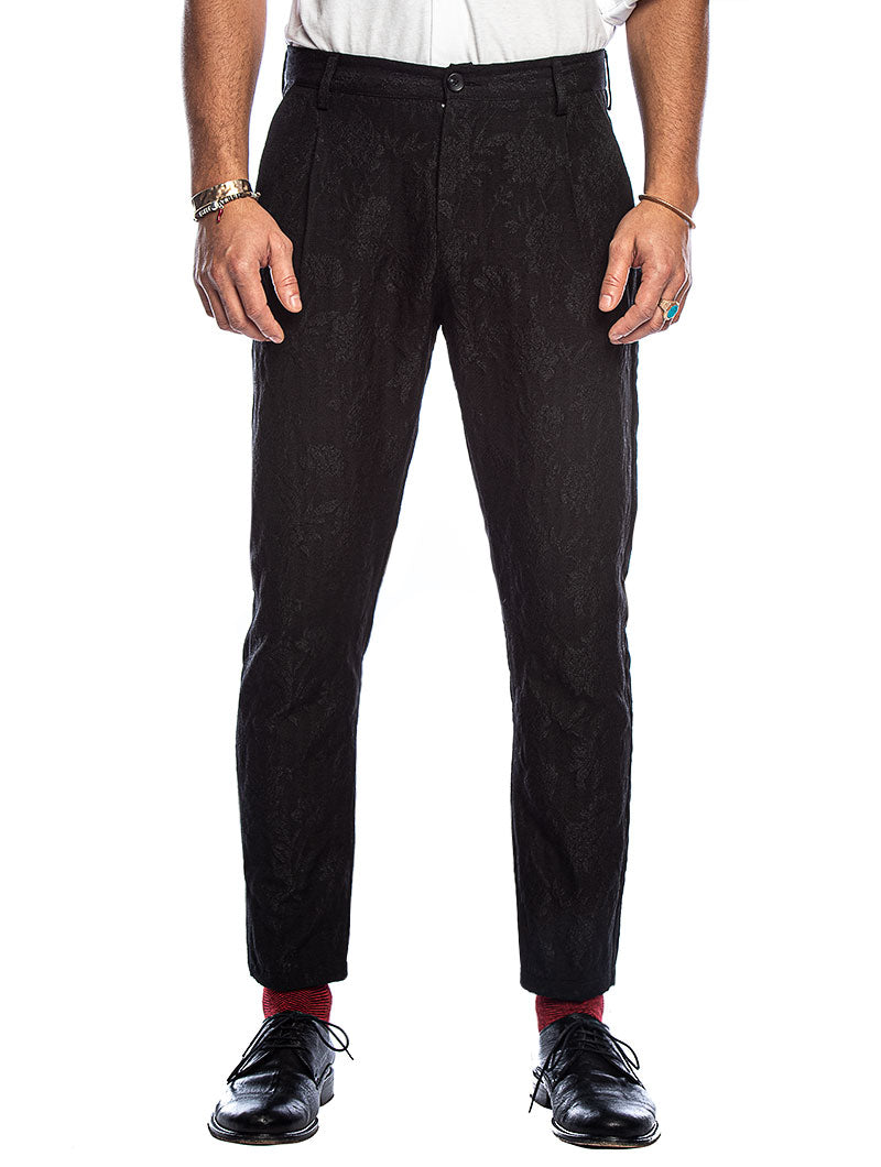 DELFT SMOKING PANTS IN BLACK