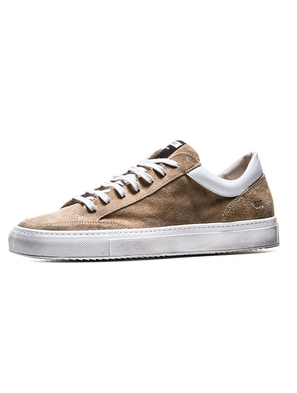 huge selection of e3f05 ba02a 009 SUEDE SNEAKER IN SAND
