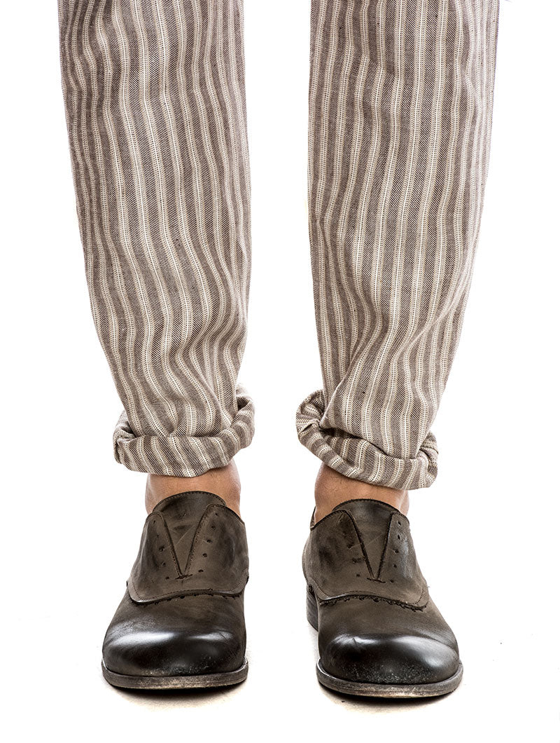 ERNEST CASUAL PANTS IN BEIGE