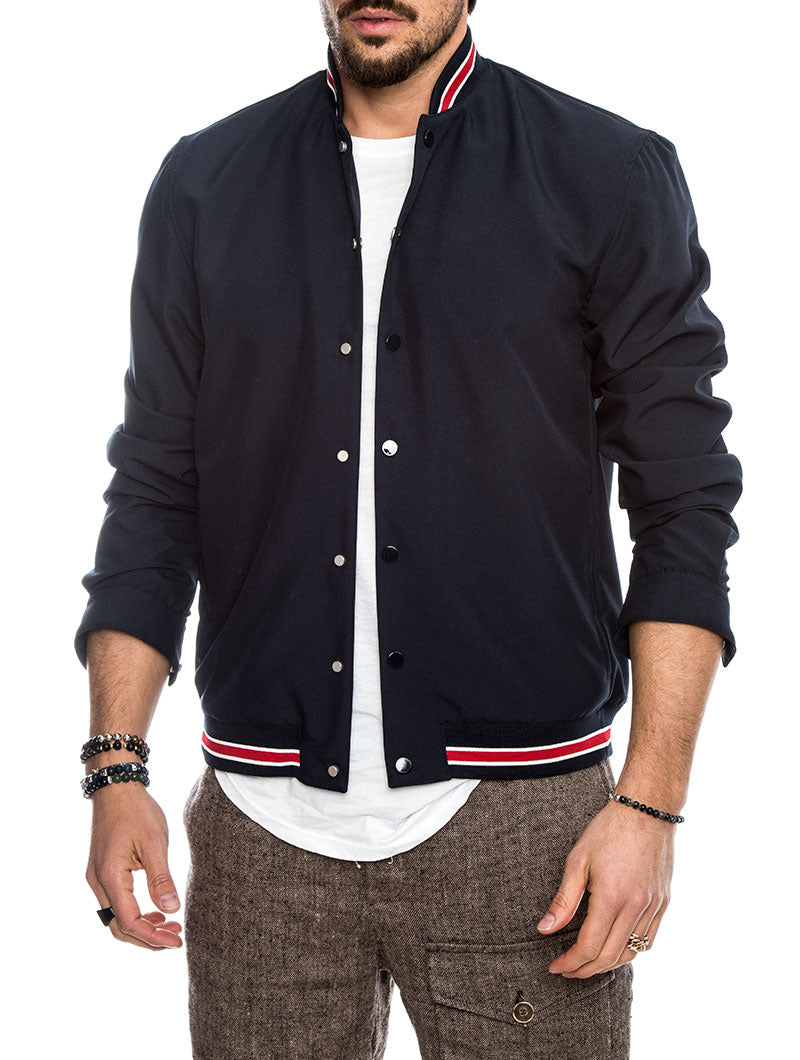 PRESCOTT JACKET IN BLUE