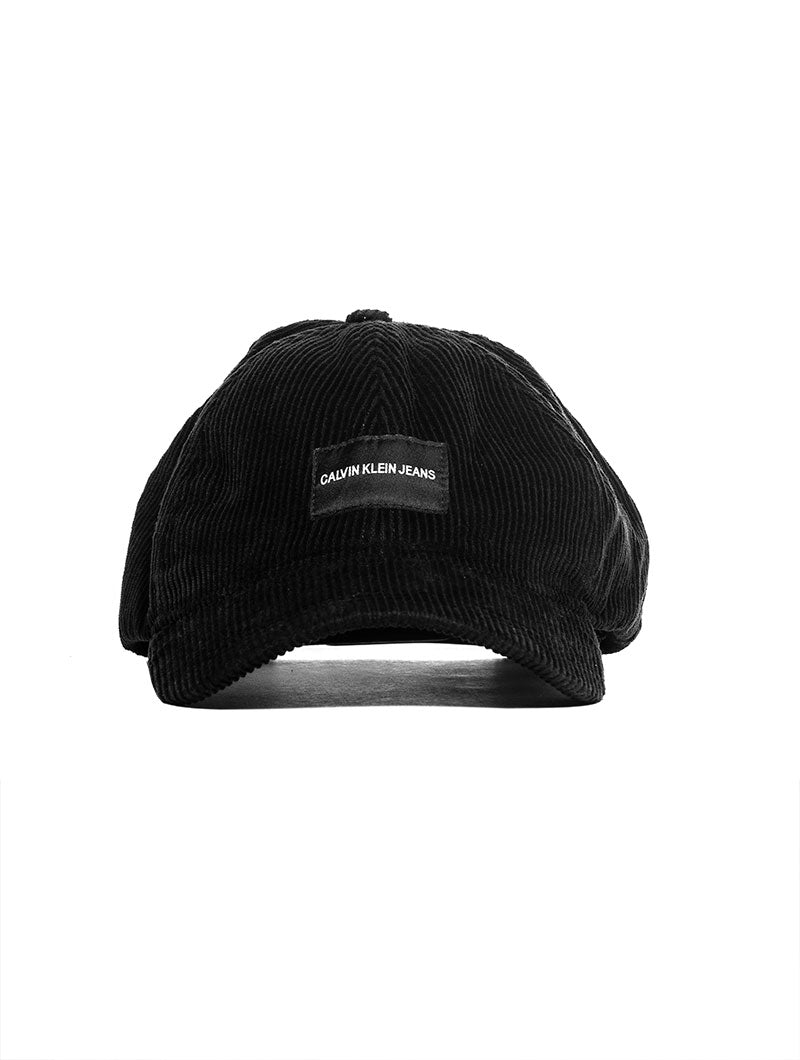 36a48d0372b J CORDUROY CAP IN BLACK BEAUTY – Nohow Style