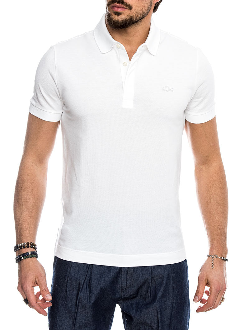 PARIS POLO IN WHITE