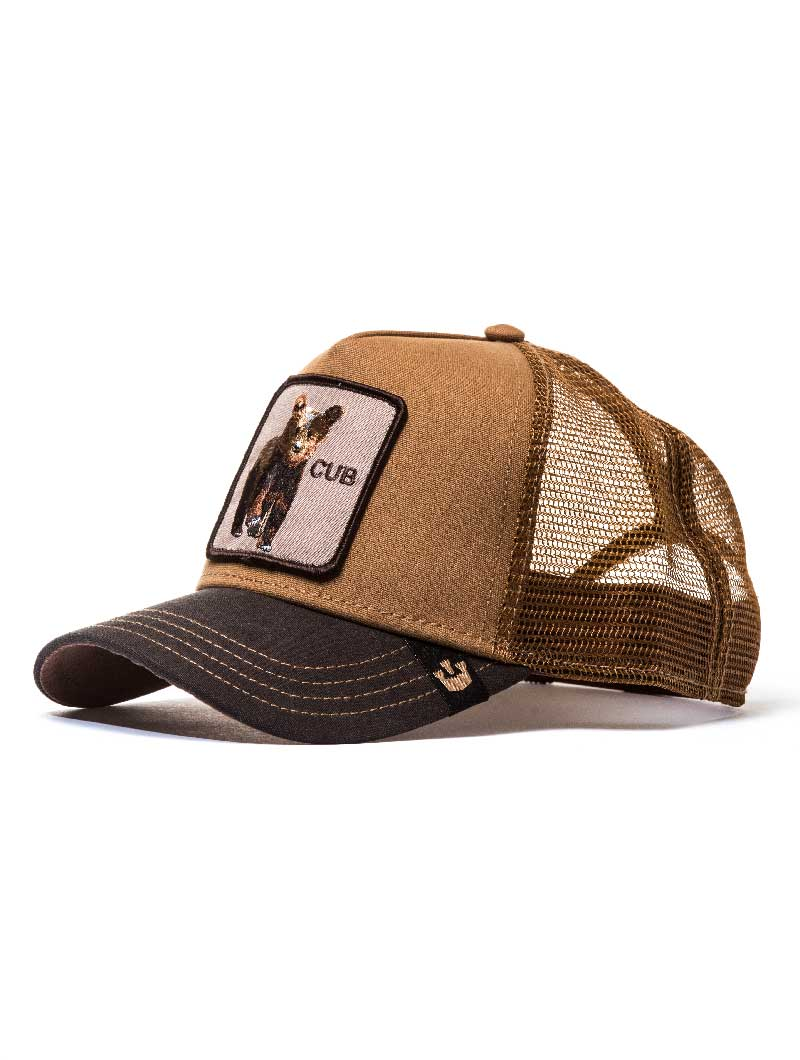 CUB CAP IN BROWN