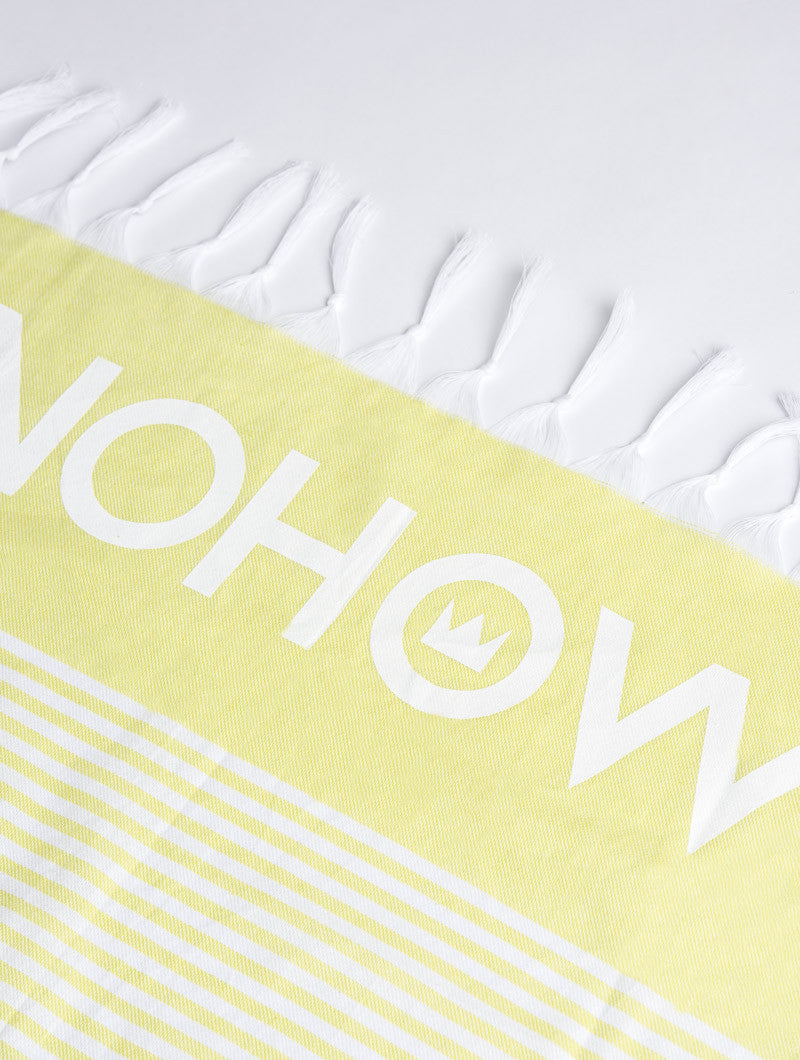 ACCESSORIES | FLUO NHW TOWEL | BEACH TOWEL | BEACH BLANKET | BEACHWEAR | 100% COTTON | #SUMMERVIBES | NOHOW