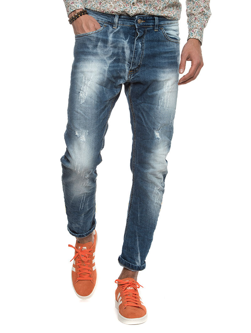 COCHIN FADED JEANS IN BLUE