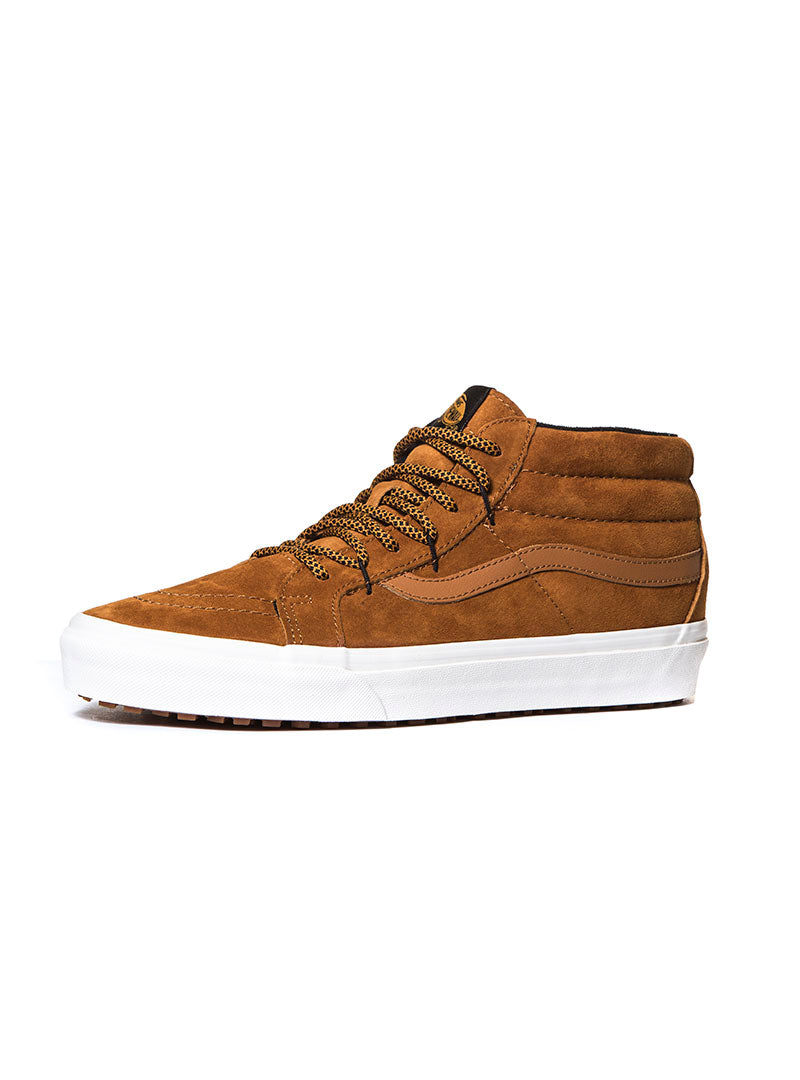 5e07976b5f UA SK8-MID REISSUE SNEAKERS IN CAMEL – Nohow Style