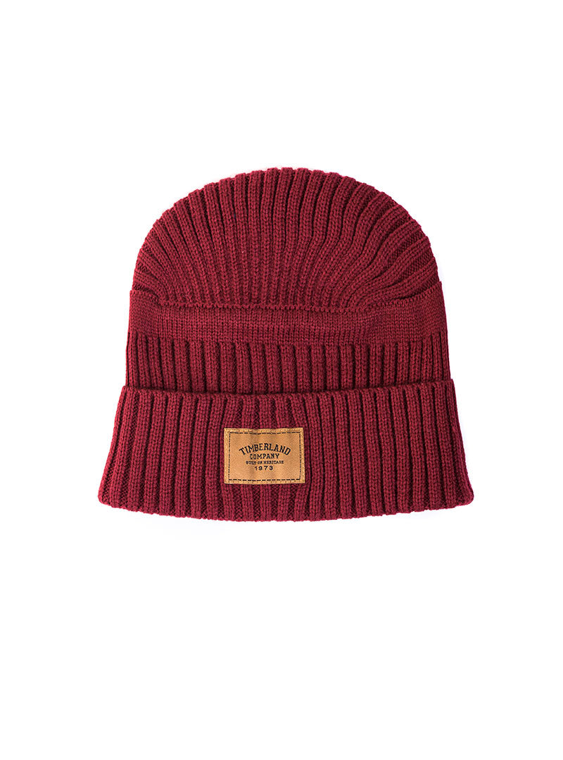 c87032ee648 GULF BEACH RIBBED BEANIE IN BORDEAUX – Nohow Style