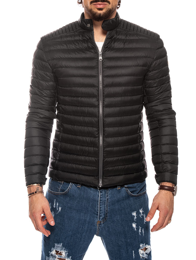 PUNK DOWN JACKET IN BLACK