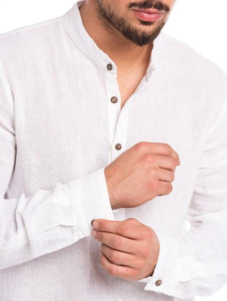 IUVENTAS SERAFINO SHIRT IN WHITE