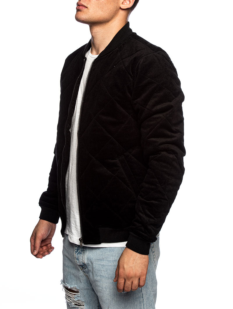 AKPALLE BOMBER JACKET IN BLACK