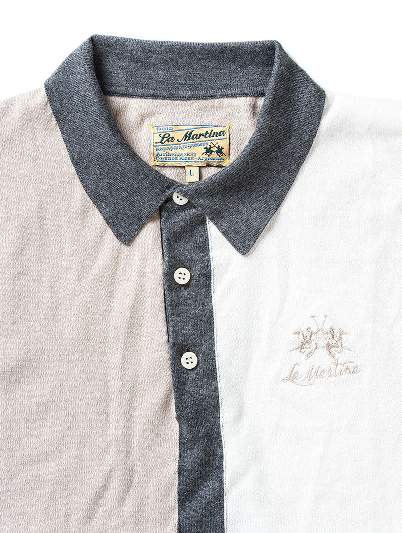 MAN SWATER FEATHER GREY POLO