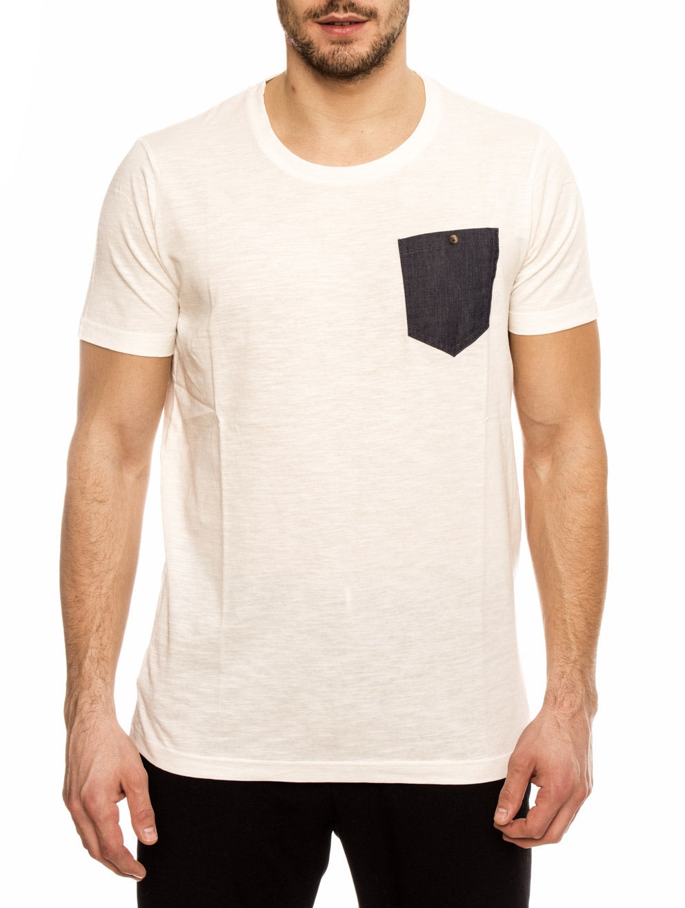 CAYMAN COTTON T-SHIRT IN CLASSIC WHITE