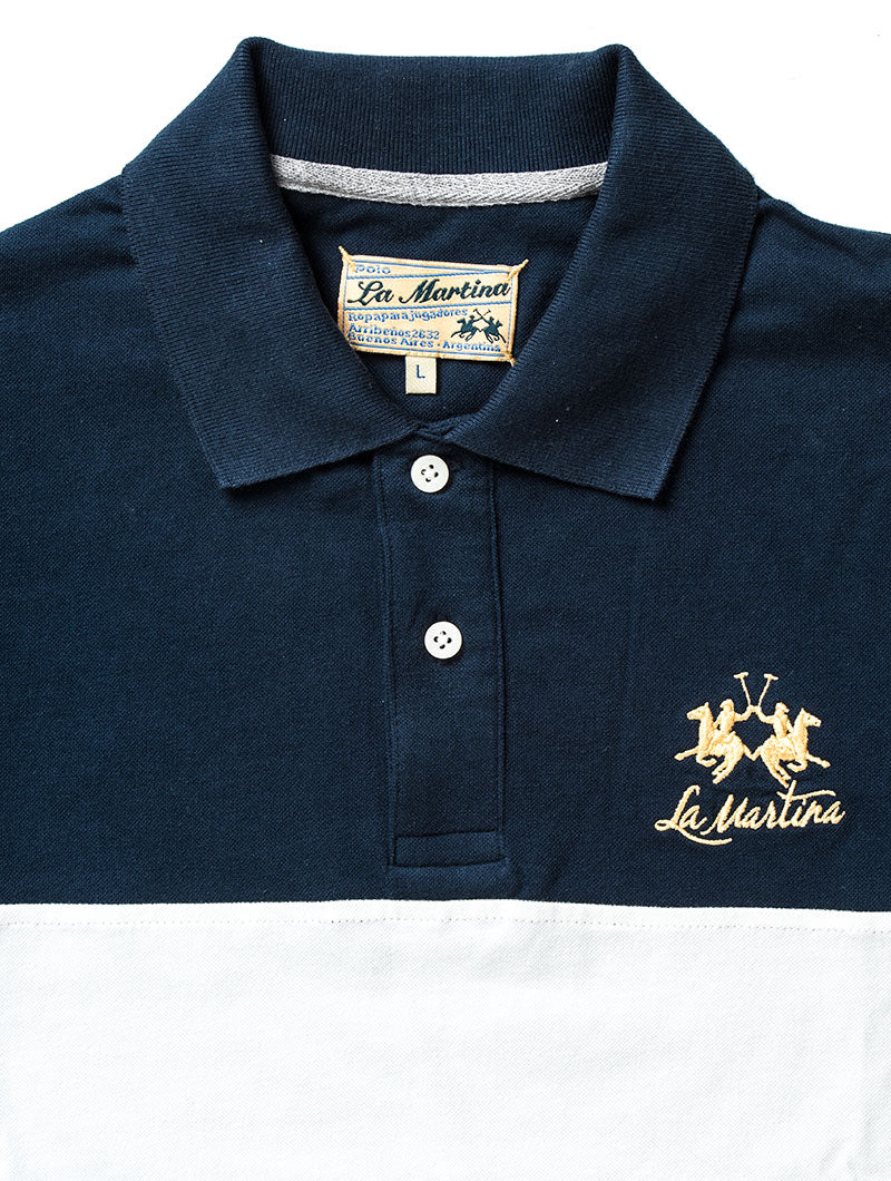 MAN PIQUET NAVY POLO