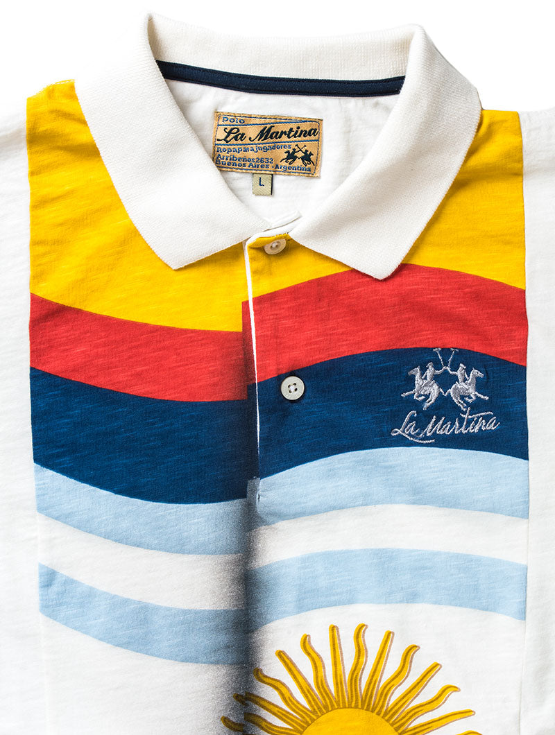 MAN SLUB OFF WHITE POLO
