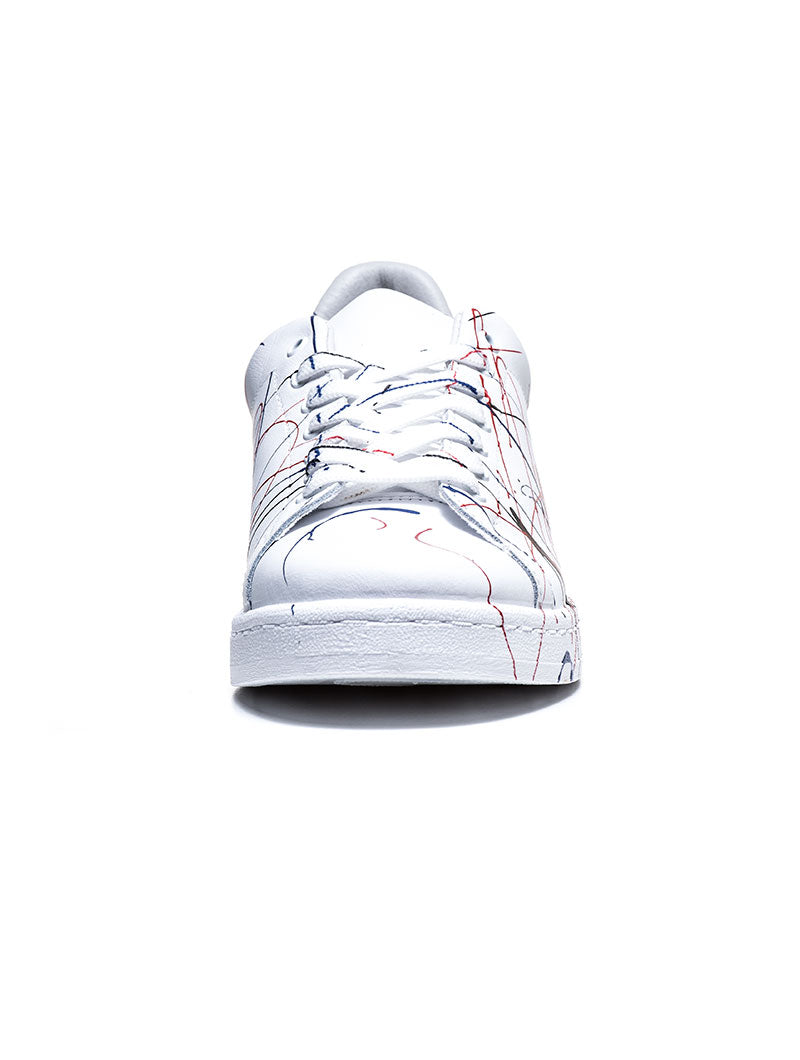 WHITE SPLASH SNEAKERS