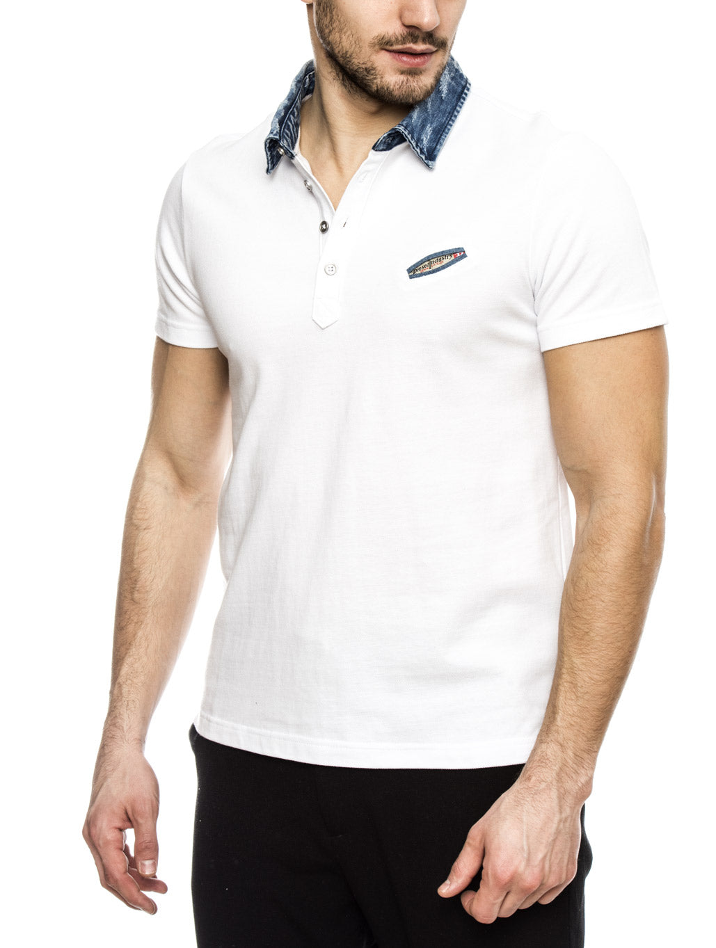 5f024420 MEN'S CLOTHING | T SAM WHITE T-SHIRT | DIESEL | NOHOW – Nohow Style