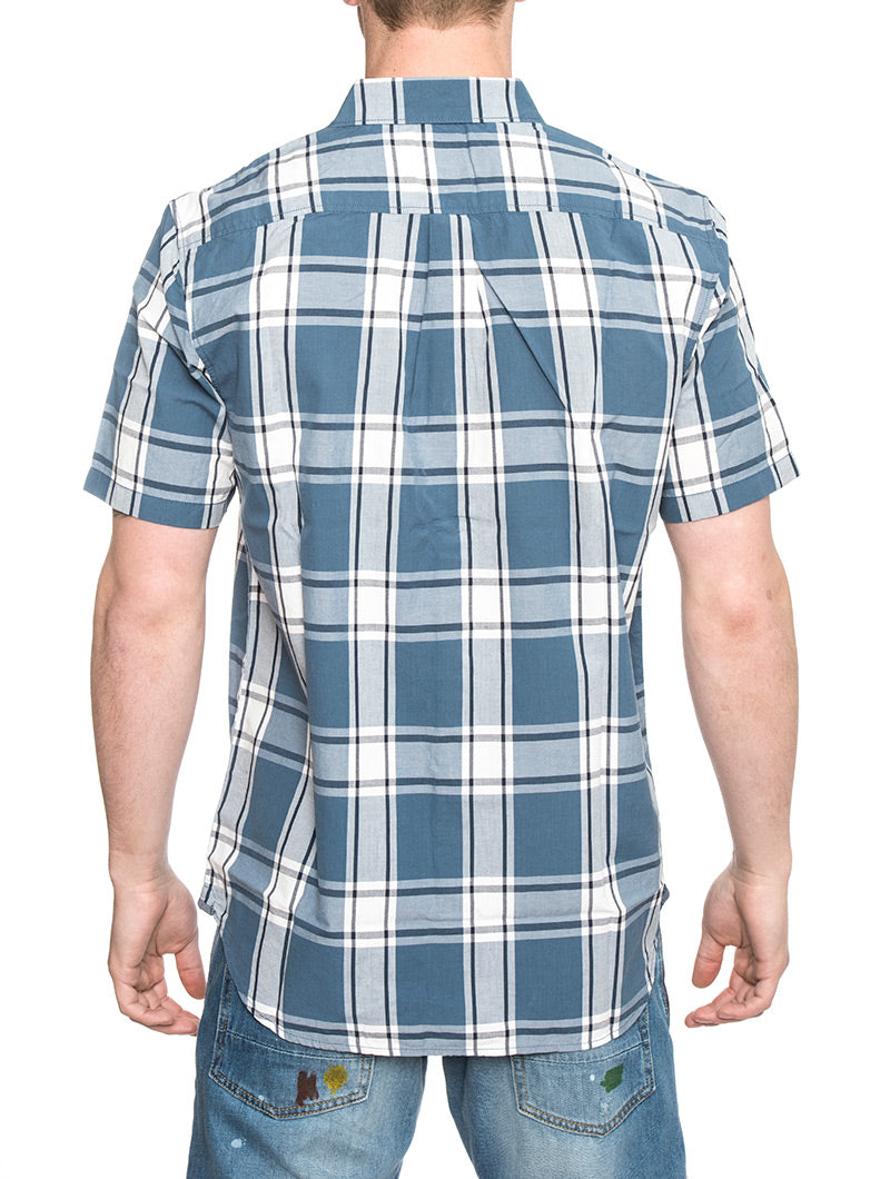 MN MAYFIELD COPEN SHIRT IN BLUE AND WHITE