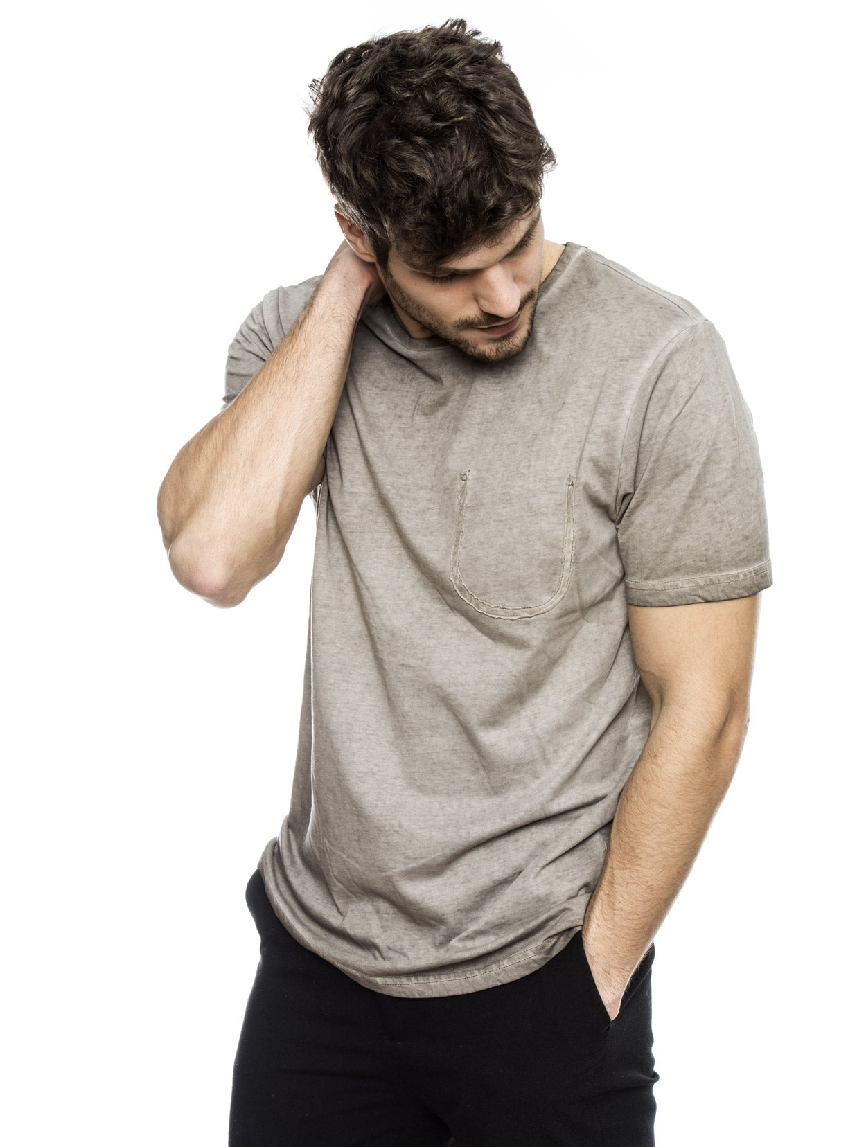 HOWLAND CASUAL T-SHIRT IN BEIGE
