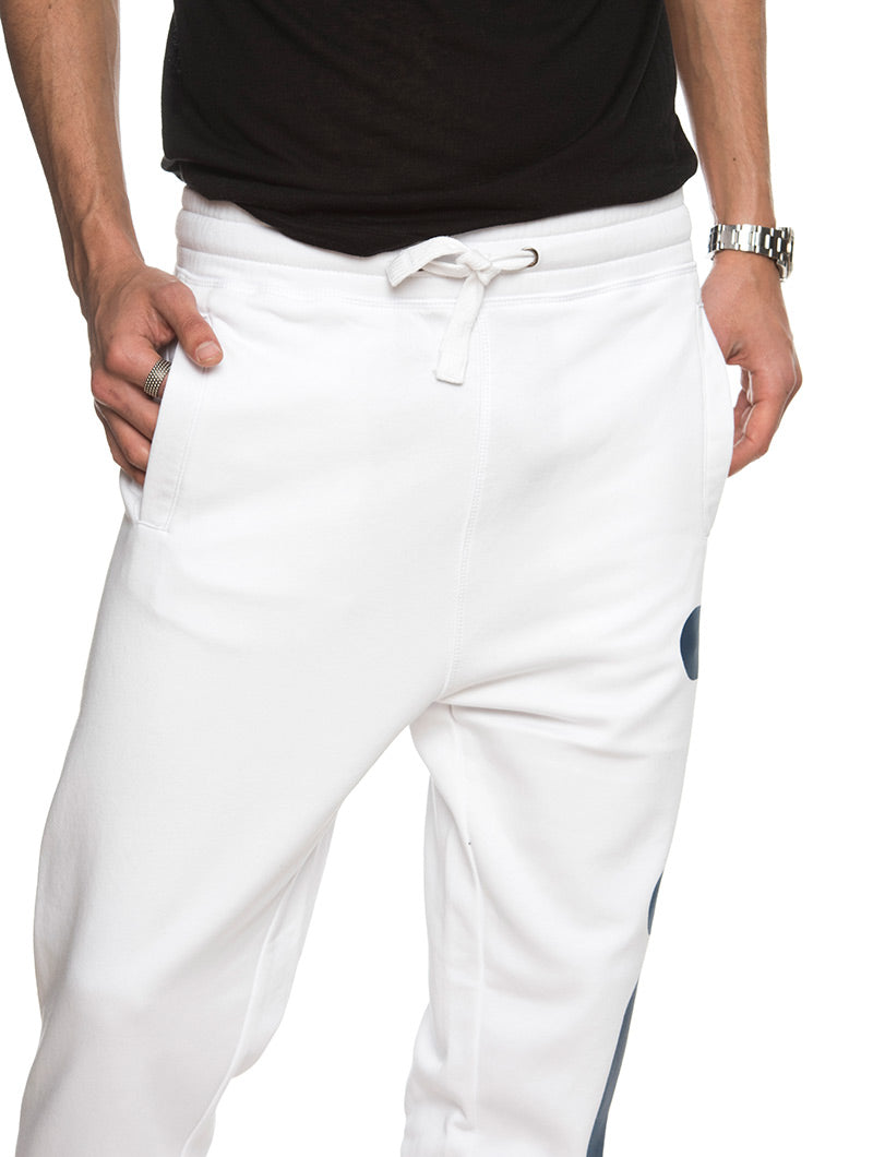 CLASSIC BASIC PANTS IN BRIGHT WHITE