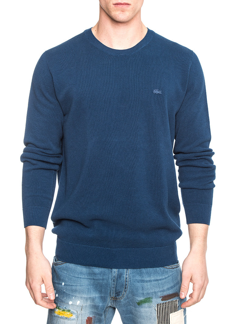 LACOSTE MAN PULLOVER IN ROYAL BLUE