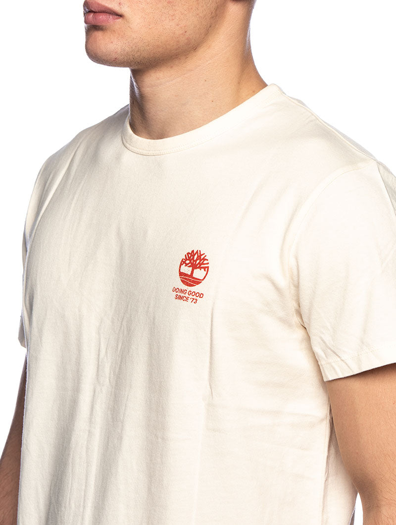 SS WORK ADD T-SHIRT IN WHITE