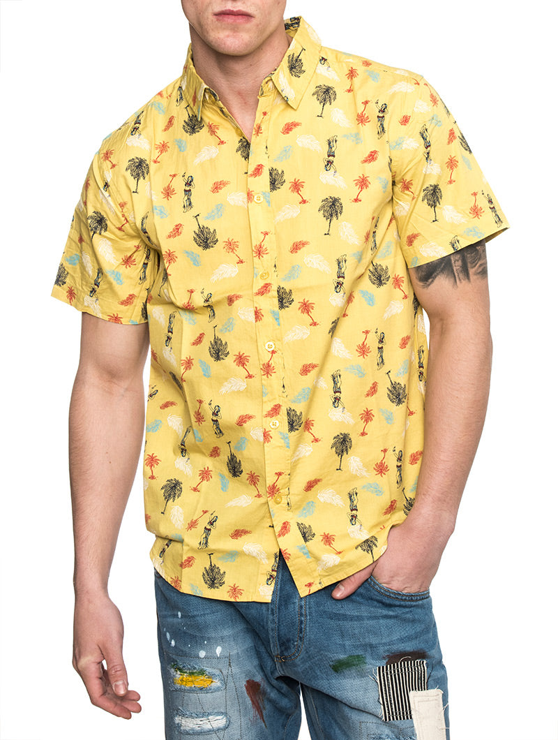 EDGE SHIRT IN YELLOW