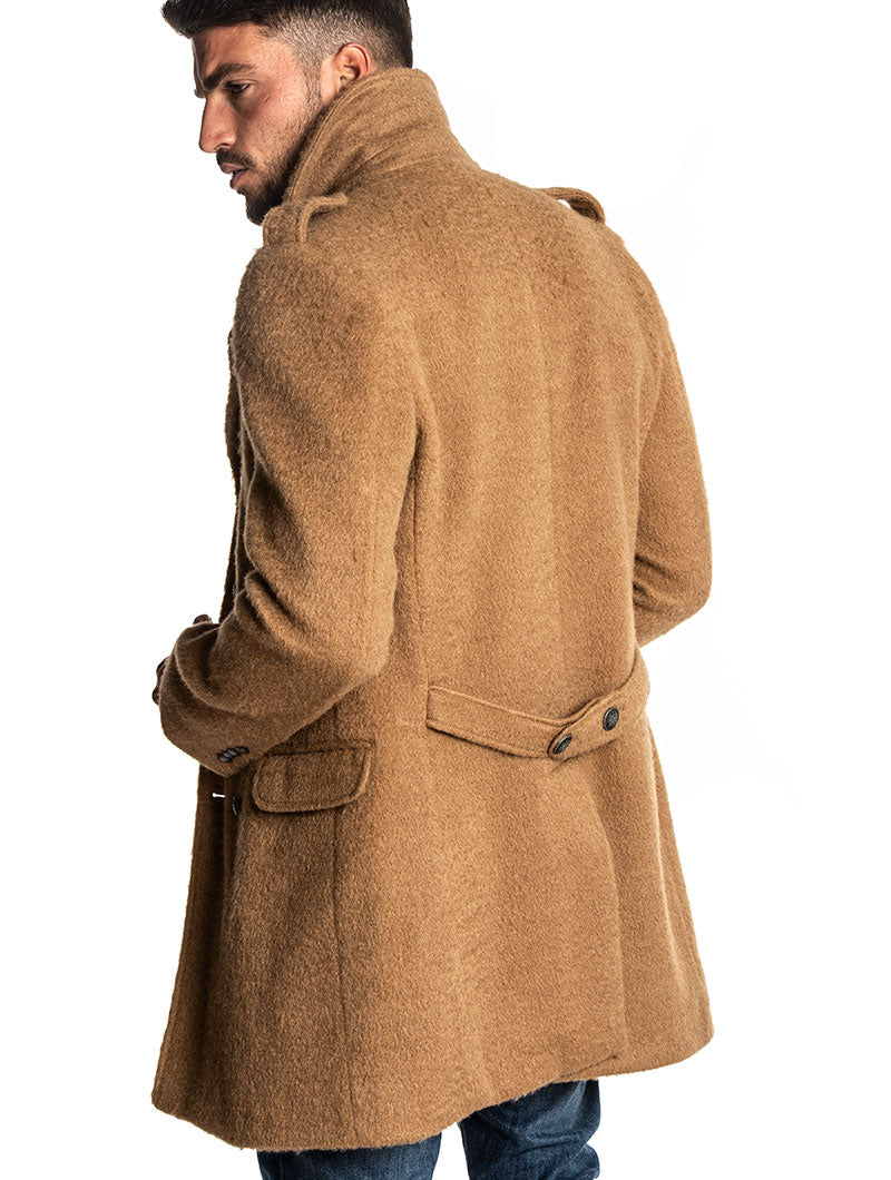 HAMPSHIRE COAT IN CAMEL