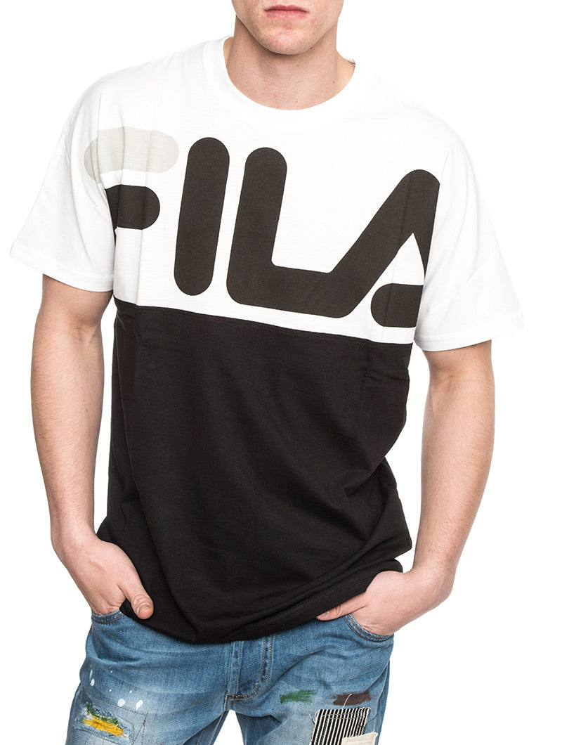 LENOX CUT GRAPHIC T-SHIRT IN BLACK AND WHITE