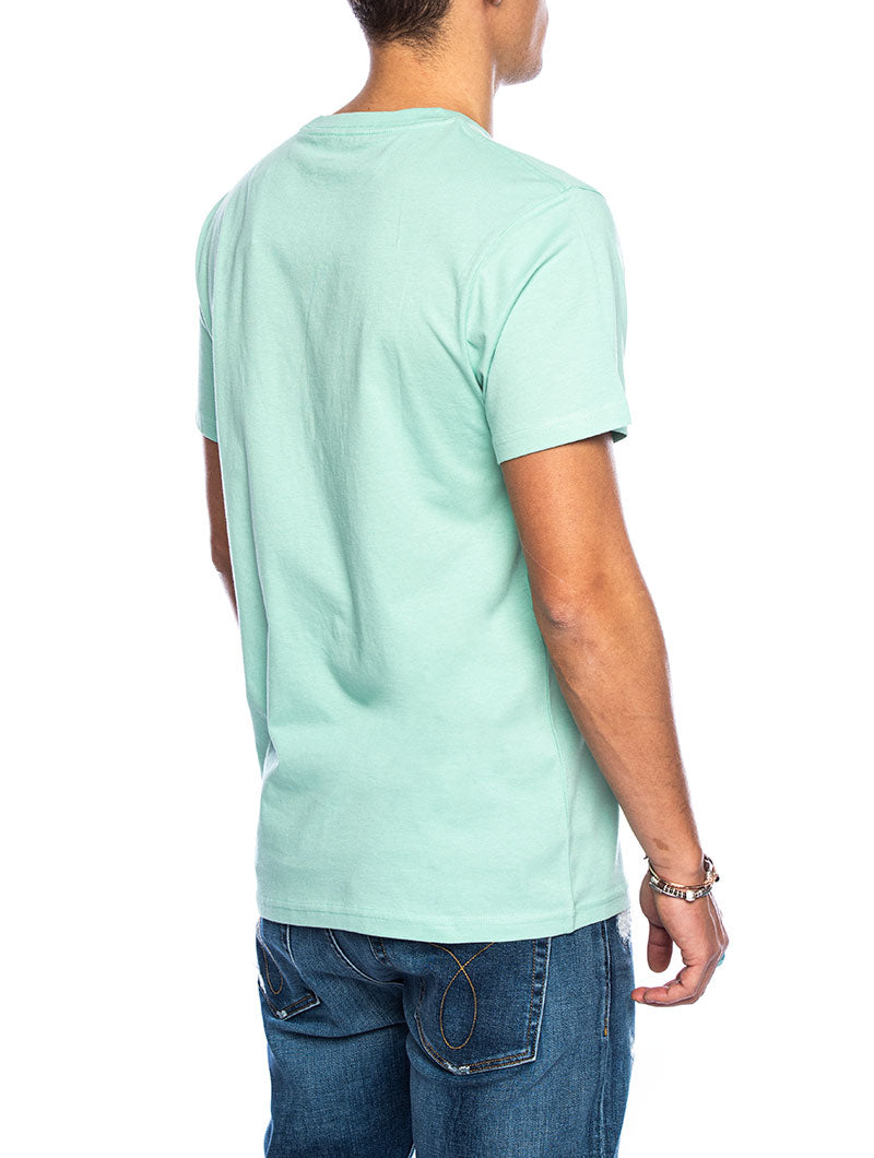 EASY BOX T-SHIRT IN JADE GREEN