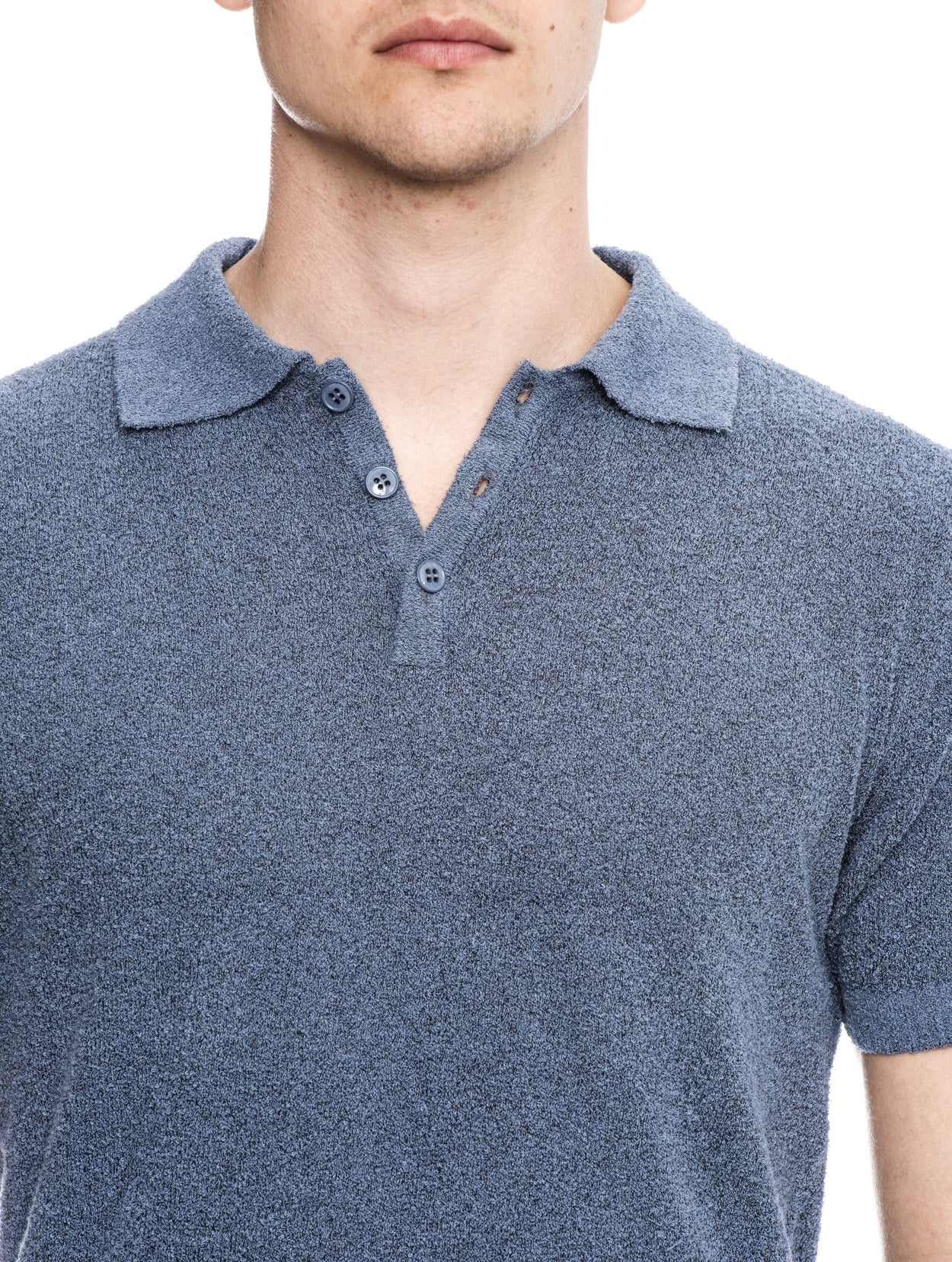 ATUM COTTON POLO IN BLUE